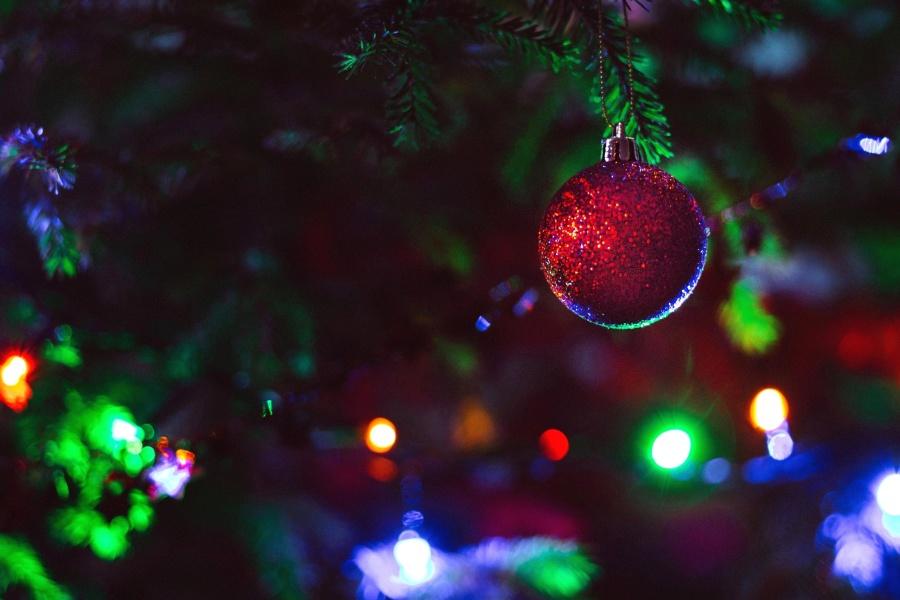 Weihnachten, Baum, Dekoration