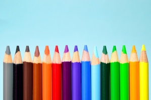 colorful, crayon, colors