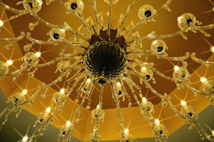 chandelier, house, light, bulb, electricity, ceiling