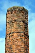 construction, architecture, brick, chimney, sky