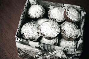 케이크, 달콤한, 디저트, 상자, 장식