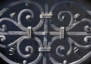 steel, art, forging, fence, decoration