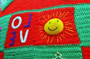 Maglione, lana, colorato
