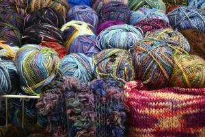 gyapjú, kötés, színes, színes