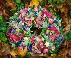 flower, bouquet, decoration, leaf, wreath