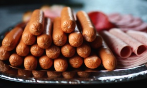 Salchicha, jamón, comida, carne, salami, platillo