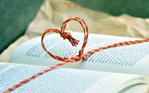 book, table, rope, learning, heart, word