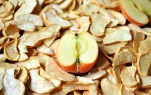 Fruits secs, pomme, nourriture, nutrition
