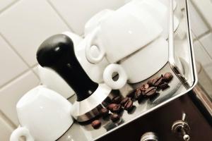 Stufa, tazza di caffè, tazza, cucina, ceramica
