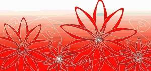Fleur, design, art informatique