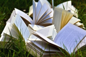 book, grass, nature, science
