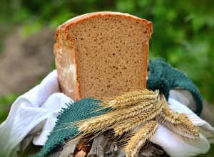 bread, food, wheat, decoration, cloth