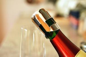 cork, bottle, glass, drink, refreshment