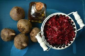 beetroot, root, food, salad, olive oil