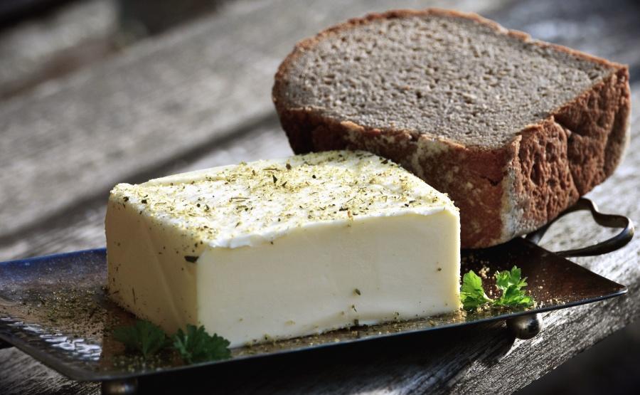 maslo, chlieb, jedlo, Raňajky