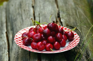 cherry, fruit, food, spring