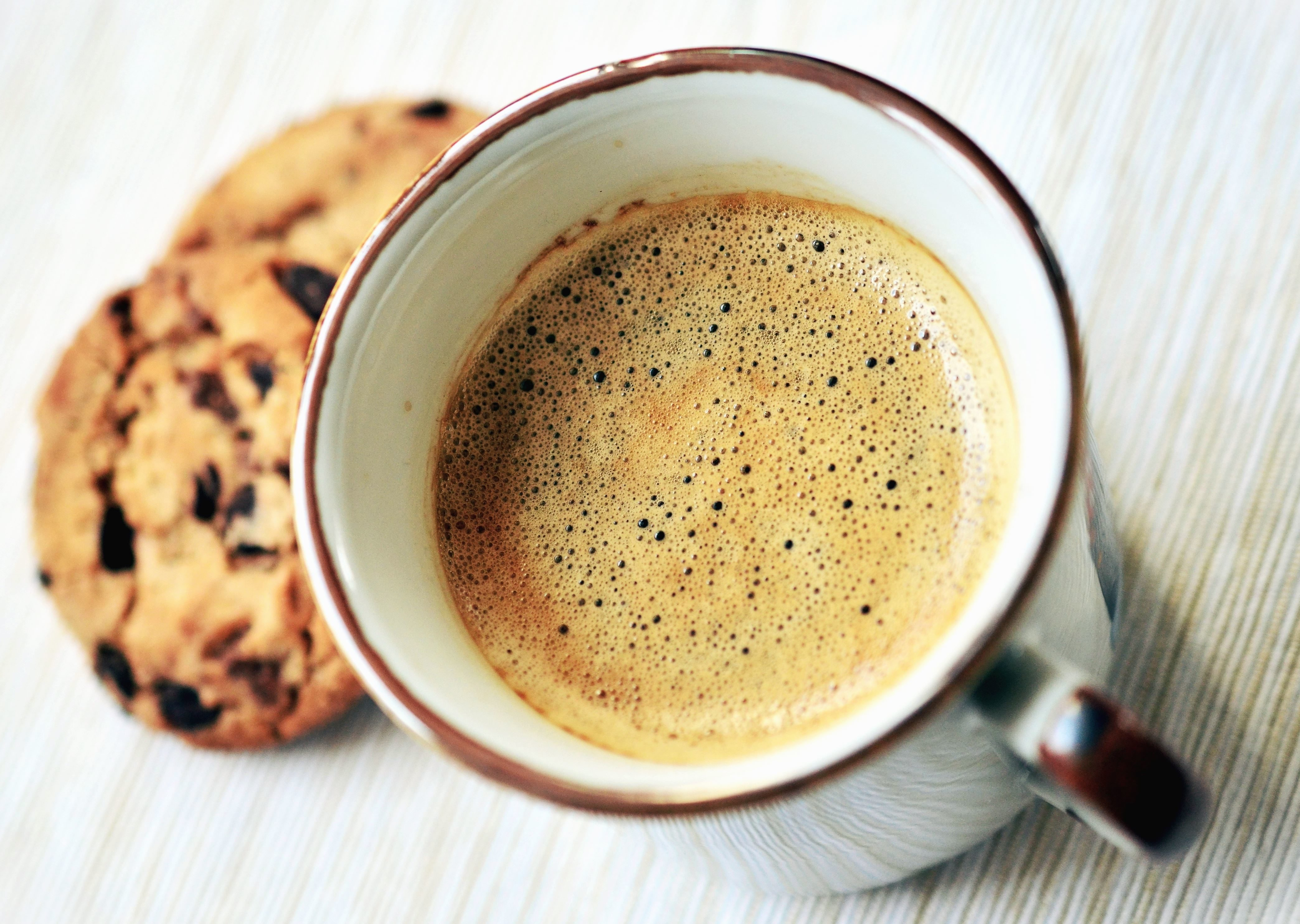 Kostenlose Bild: Keramik, Kaffeetasse, Kuchen, Essen