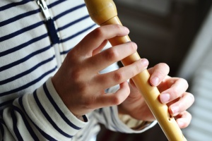 dychový nástroj, hudba, ruky, prstov, fife