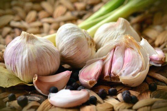 garlic, diet, seed, vegetable, food