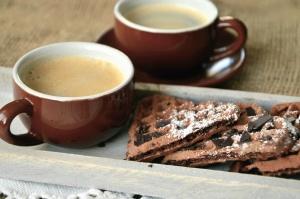 десерт Кубок напій, кава, печиво, солодкий