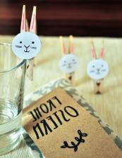 etiket, cam, su, mandal, Dekorasyon, tavşan