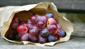 Bacca, carta, frutta, uva, dolce
