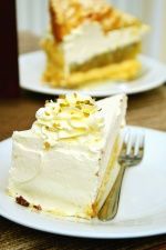 Torta, tenedor, plato, postre, dulce, celebración