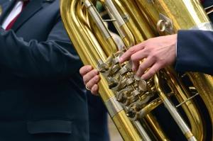 jacket, trumpet, instrument, wind instrument, metal, sound, orchestra
