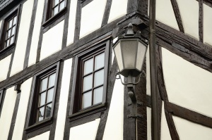 Gebäude, Fenster, Architektur, Fassade, Holz