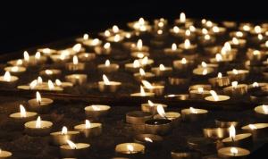 svijeću, vosak, plamena, vruće, svijetle, romansa