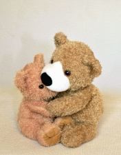 hug, teddy bear, toy