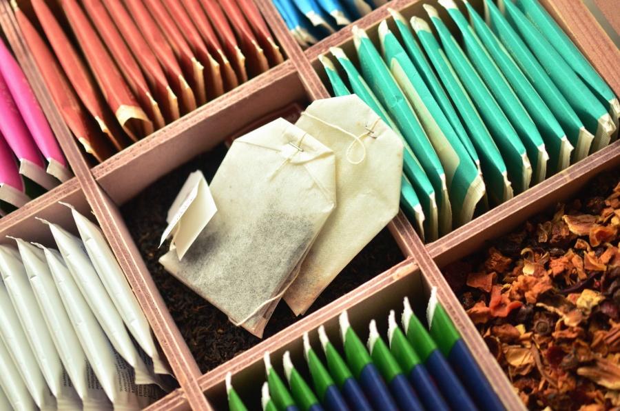 чай, кутия, завод, хартия, чай чанта