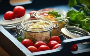 tomate, vegetal, jar, folha, comida, almoço, cozinha