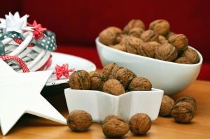 orech, misy, hviezda, dekorácie, Vianoce