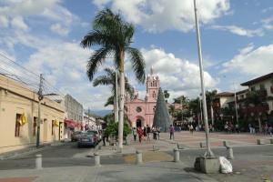 Viaggiare, turismo, centro, strada