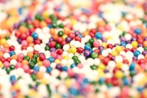 Coloré, minuscule, les couleurs
