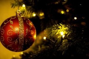 decoration, christmas, ball, light