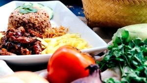 Delicioso, comida, vegetal, almuerzo, comida