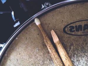 bubanj, glazba, instrument, zvuka, palice