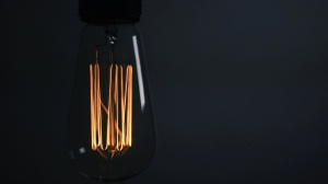 light bulb, techology, darkness, light, dark