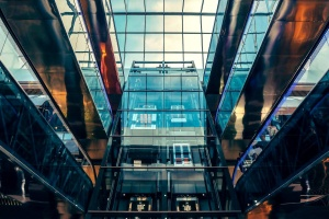 glass, building, interior, modern, architecture
