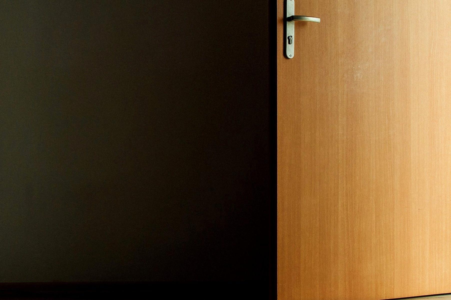 Open Door Dark Room free picture: dark, room, open, door