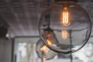 light bulb, luxury, decoration, modern, interior, light