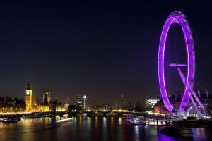 Notte, città, paesaggio urbano, architettura, urbano, orizzonte