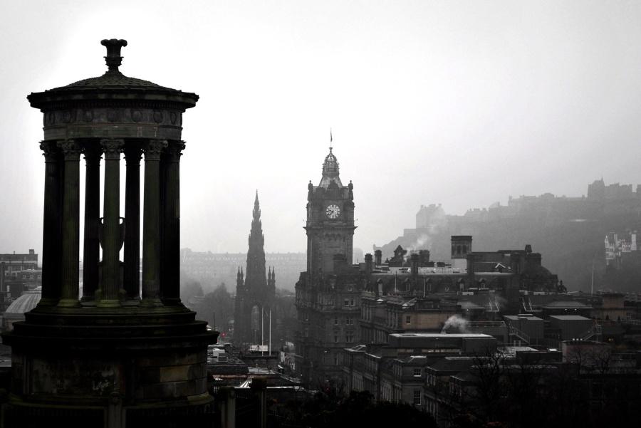 θολό τοπίο, το πρωί, τον τουρισμό, στο κέντρο της πόλης, μνημείο, πόλη, αρχιτεκτονική