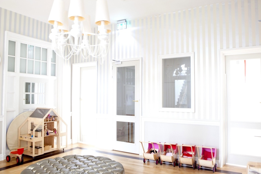 nursery school, room, interior, modern