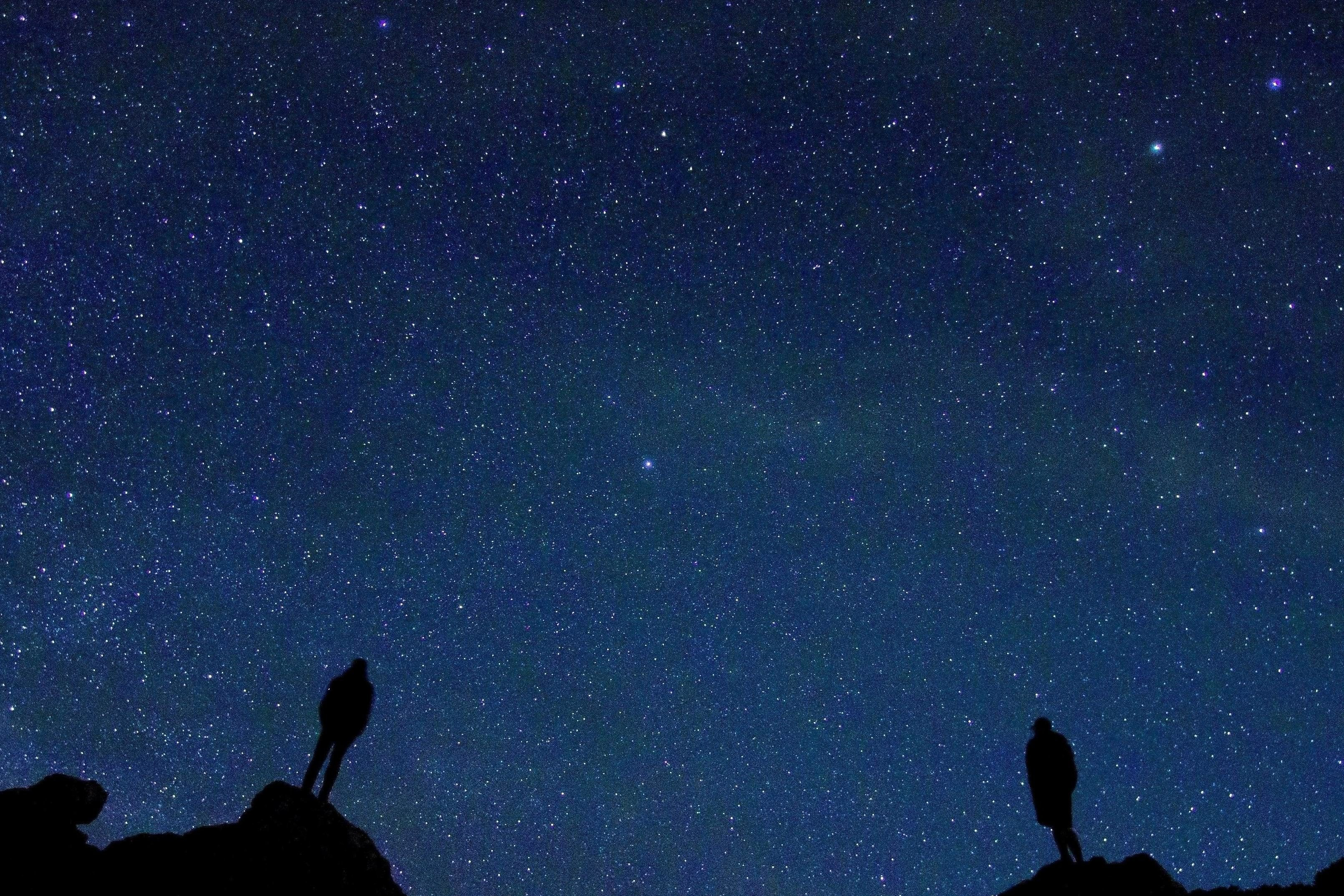 Картинки одинокая звезда в небе