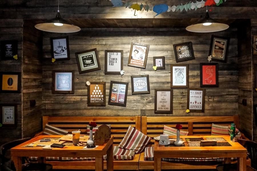 kostenlose bild bild wand dekoration restaurant interieur. Black Bedroom Furniture Sets. Home Design Ideas