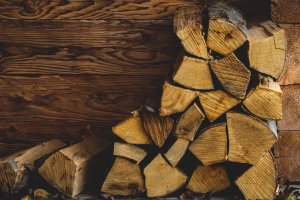 stapel, brandhout, hout, plank