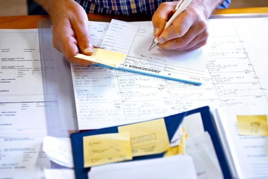 office, paper, employee, work